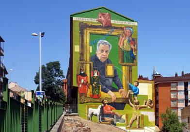 La ruta de murales Zamora Variopinta apuesta por el arte urbano