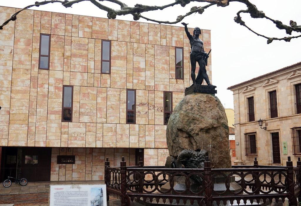 estatua de viriato zamora