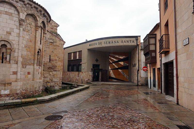 Ubicación del Museo de Semana Santa de Zamora