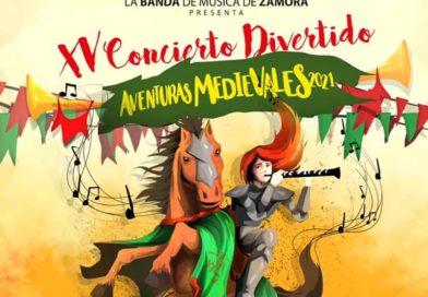 Conciertos Divertidos 2021 con la Banda de Música de Zamora