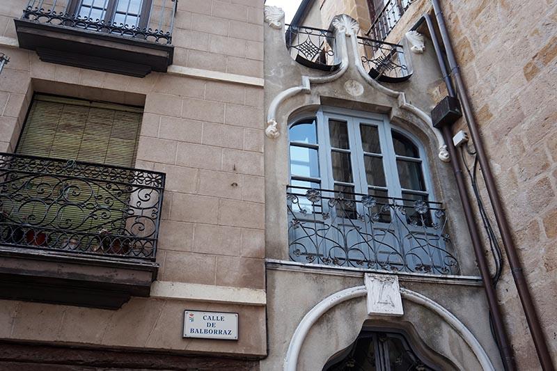 balcón modernismo balborraz