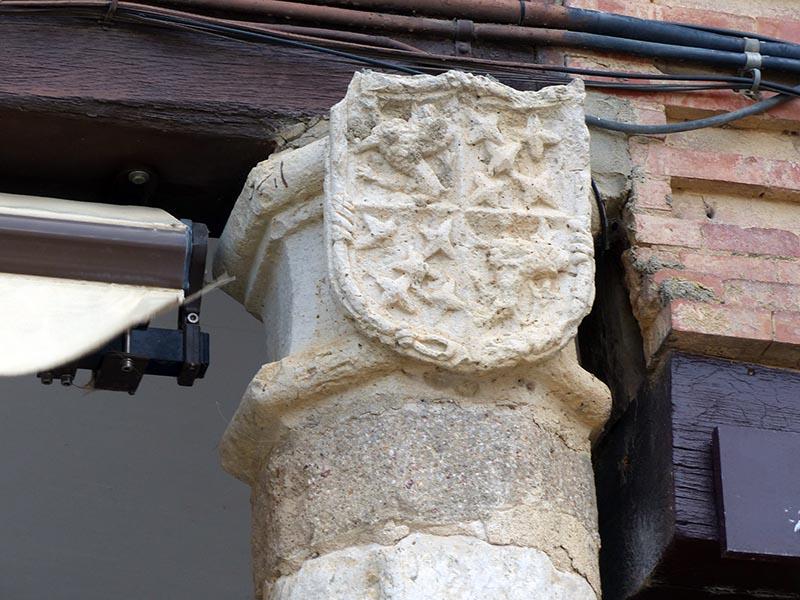 columnas plaza mayor