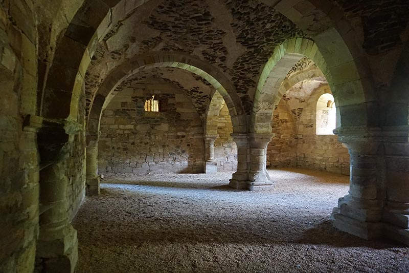 sala de monjes