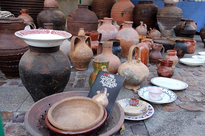 feria cerámica fiestas san pedro zamora