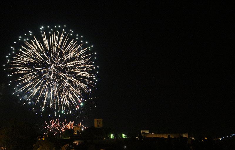 fuegos artificiales san pedro 2019